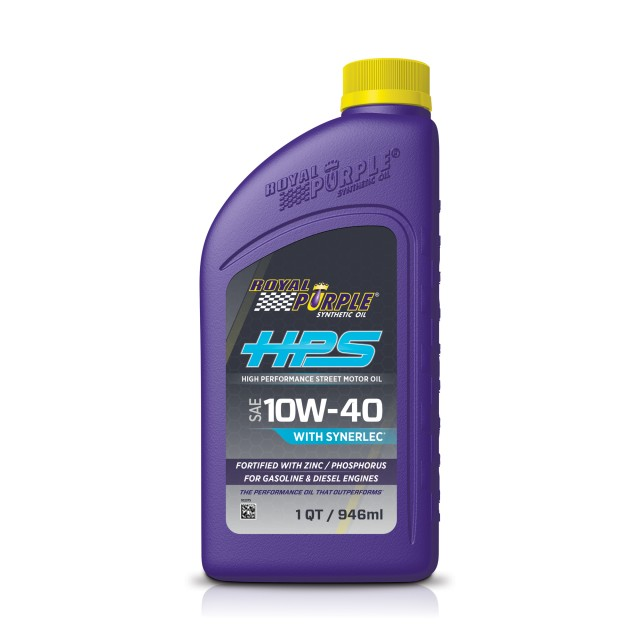 HPS 10W-40 - High Performance Street Motors Oil